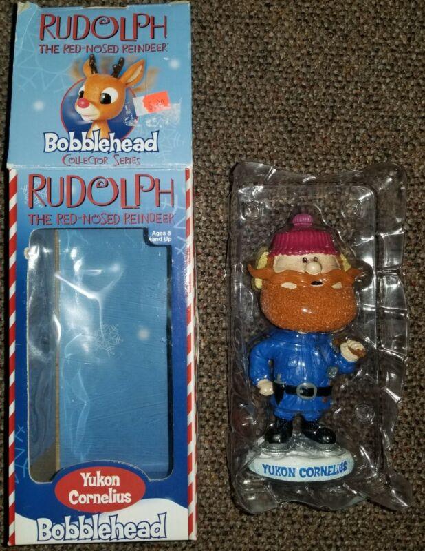 Yukon Cornelius Bobblehead of Rudolph the Red Nosed Reindeer 2002 ToySite.