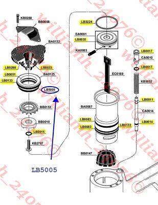Senco Stapler M1 M2 M3 Sc1 O-ring Lb5005 Seal Kit