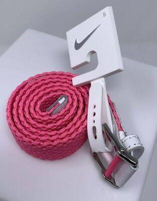 7cf978a41c24 NIKE GOLF Stretch Woven Womens Golf Belt Size Small Pink