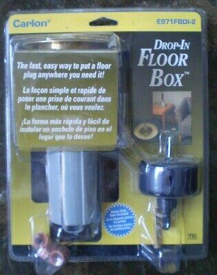 Drop In Floor Box Kitno E971fbdi-2 Thomas Betts