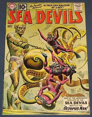 Sea Devils #1  Oct 1961  Russ Heath