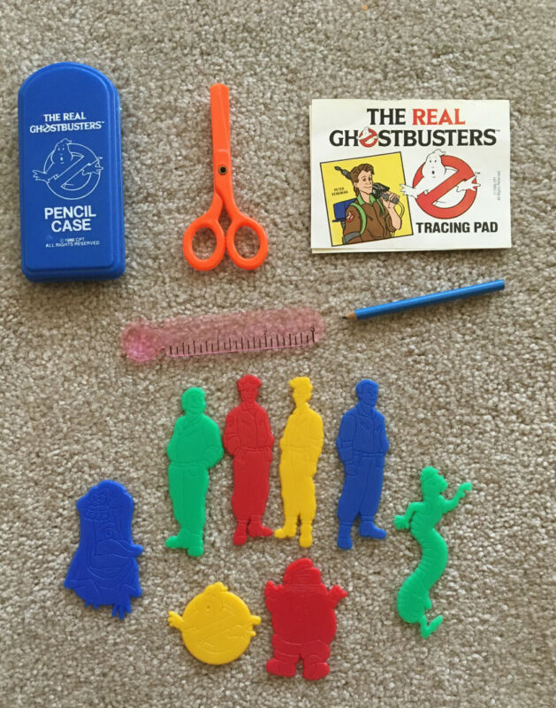 1986 The Real Ghostbusters Trace & Color Set