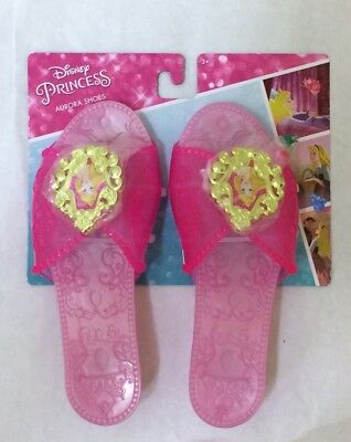 BNWT Disney Princess Sleeping Beauty Aurora Toddler Size Costume Kids Shoes Pink