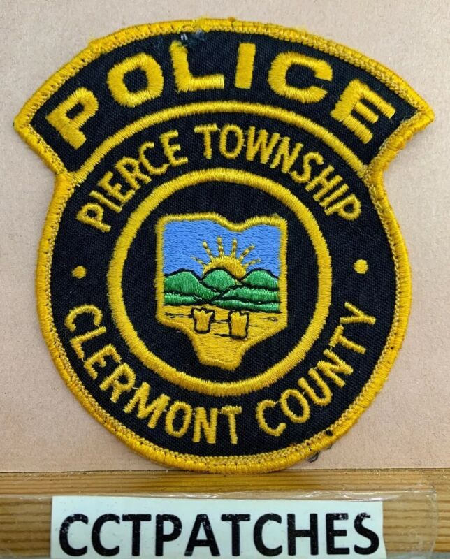 PIERCE TOWNSHIP, OHIO POLICE SHOULDER PATCH OH