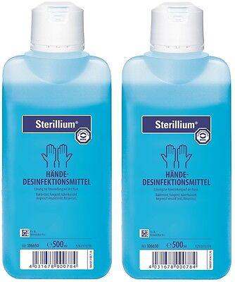 2 x 500 ml Sterillium  Händedesinfektion von Paul Hartmann AG