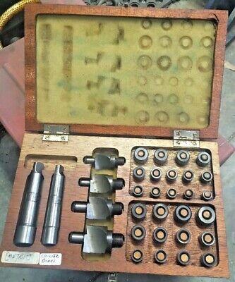 Komet Sid Metric Counterbore Set Morse Taper 2 Shank 4 Cutters W Pilots In Case