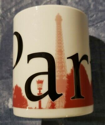 Starbucks City Mug -- Paris -- Collectors Series - 16 oz. (Great Condition)