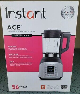 Instant Pot Ace 60 Cooking and Beverages Home Kitchen 8 Smart One-Touch Blender