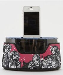 Monster High Alarm Clock Radio iPhone iPod Dock NEW
