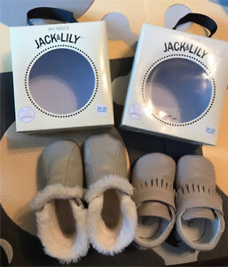 Jack & Lily Soft Soled Boots Moccasins 24-30M size 6-7