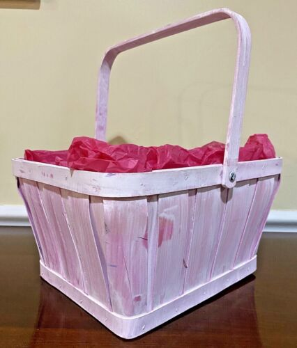 Extra Large Pink Easter Basket Great For Mother
