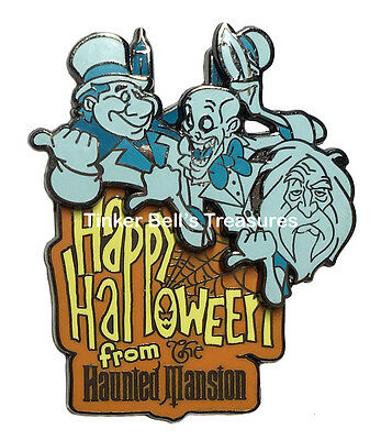 DISNEY Pin LE 2000 - Happy Halloween from Haunted Mansion - Hitchhiking Ghosts
