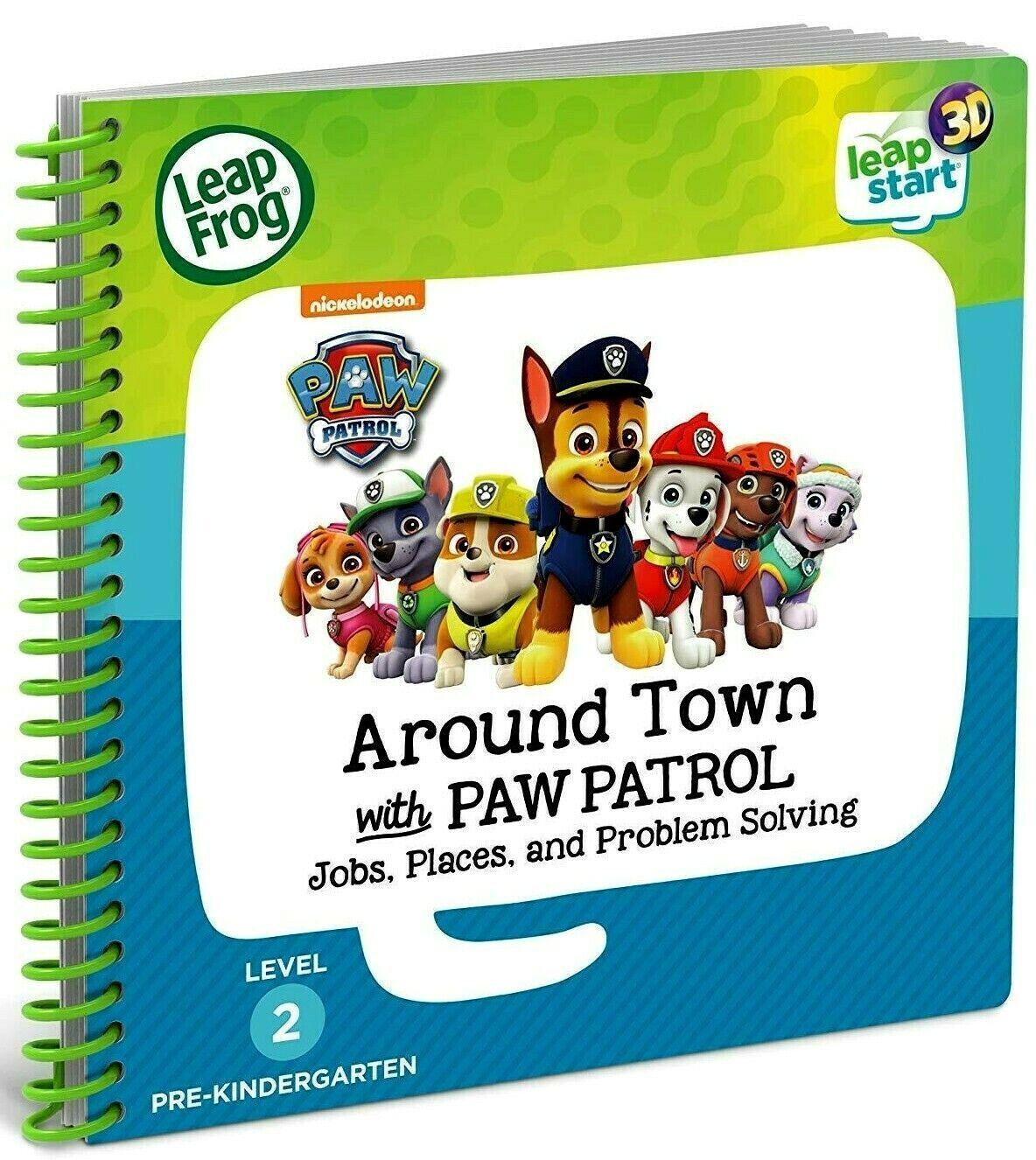 Paw Patrol Activity Book 3D Enhanced Leapstart Preschool Aro