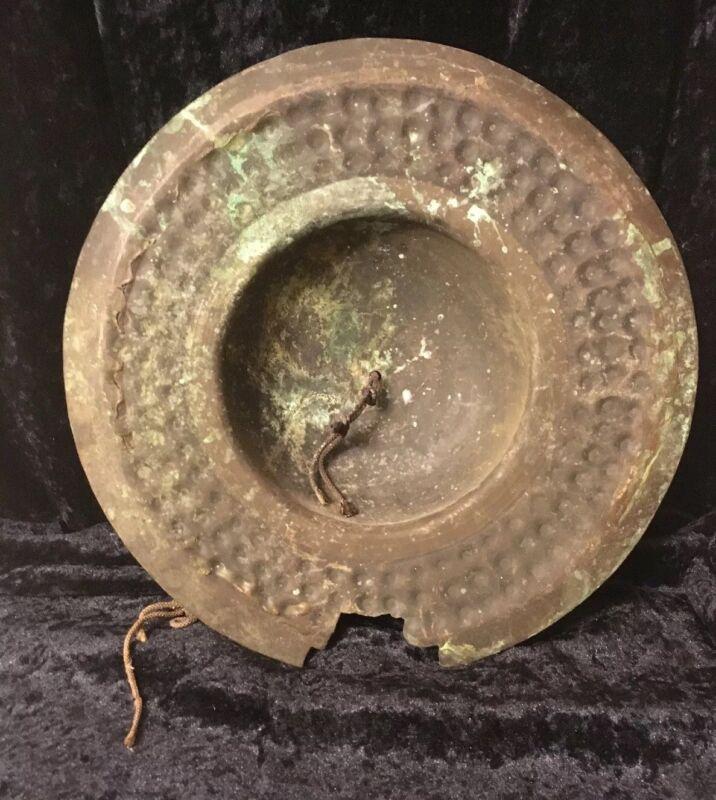 Antique Japanese Edo Bronze Cymbal
