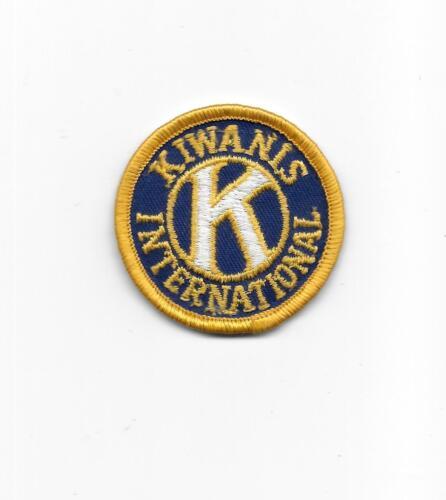 Kiwanis International Round Cloth Patch