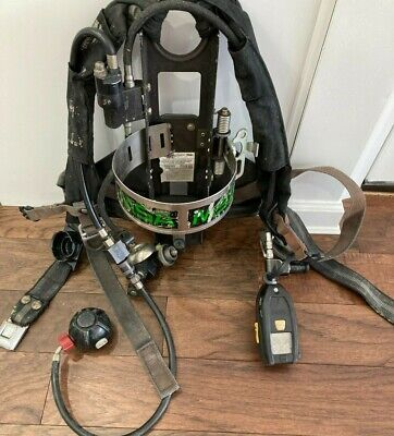 Msa Frame Harness 4500psi Scba Air Pack For Firefighters