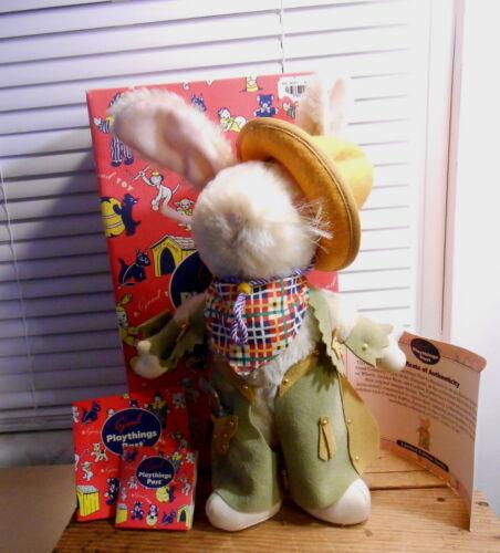 1999 Gund Cowboy Rabbit - First Edition  - With Box