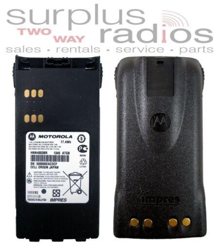 IMPRES OEM MOTOROLA BATTERY LI-ION HT1250 MTX850 MTX9250 MTX8250 HT750 HNN4003BR
