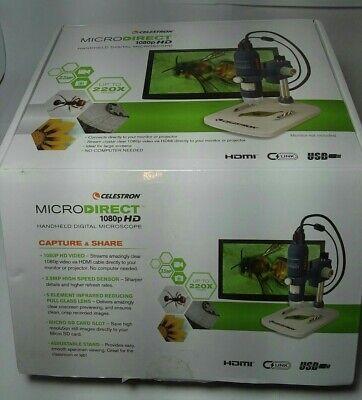 Celestron Microdirect 1080p Hd Handheld Digital Microscope