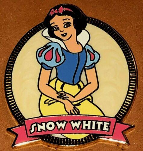 DISNEY WDW 2003 PRINCESS SWIRL SNOW WHITE AND THE SEVEN DWARFS PORTRAIT PIN