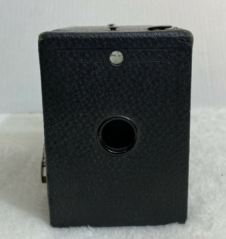 Eastman Kodak Co Box Camera Use Film No. 120 Pat Feb 1, 1916