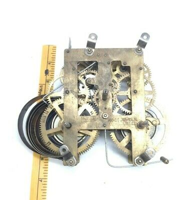 India Vintage Brass Wall / Mantle Clock Movement