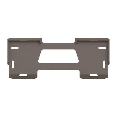 Skid Steer Loader Quick Attach Plate 12 Bobcat Case John Deere Asv - Qt500a