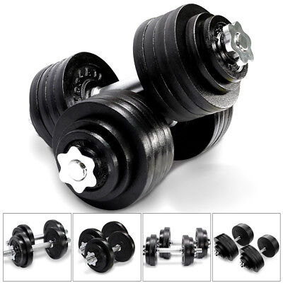 Yes4All Cast Iron Adjustable Dumbbells Gym Set 40 to 200 Lbs - PAIR OR SINGLE