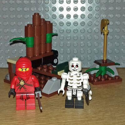 LEGO NINJAGO SET 2258 - NINJA AMBUSH - THE GOLDEN WEAPONS - GREAT CONDITION