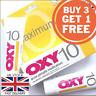 OXY 10 Benzoyl Peroxide Acne Spots Pimple Cream Mentholatum MAX Fast UK SELLER