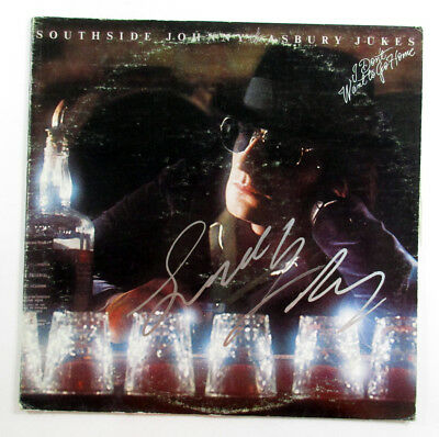 Southside Johnny Signed Album With Asbury Jukes I Dont Want To Go Home Auto  1