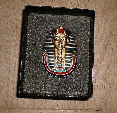 King Tutankhamen-Larger Design 2.50 Hallmarked Late 1920/'s Egyptian Revival