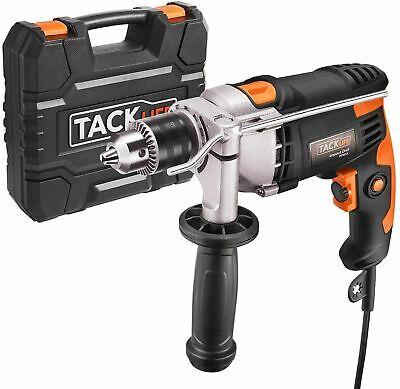 Taladro Percutor, TACKLIFE 850W 3000RPM Eléctrico con Varios accesorios