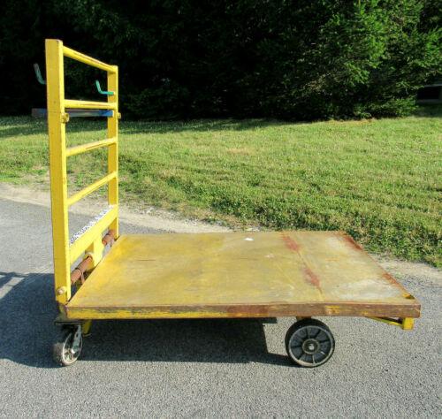 "3000lb Capacity Platform Hand Truck Push Cart 52"" x 40"" - We Deliver - See Below"