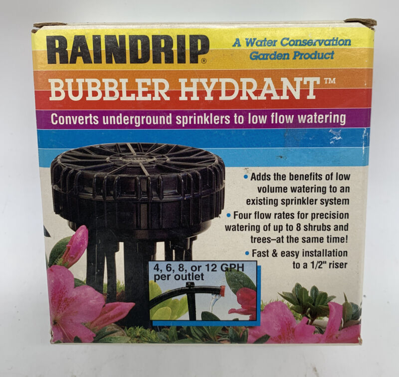 Raindrip Bubbler Hydrant Kit Sprinkler Systems To Drip Watering R154D