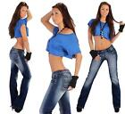 Low Rise Hipster Jeans
