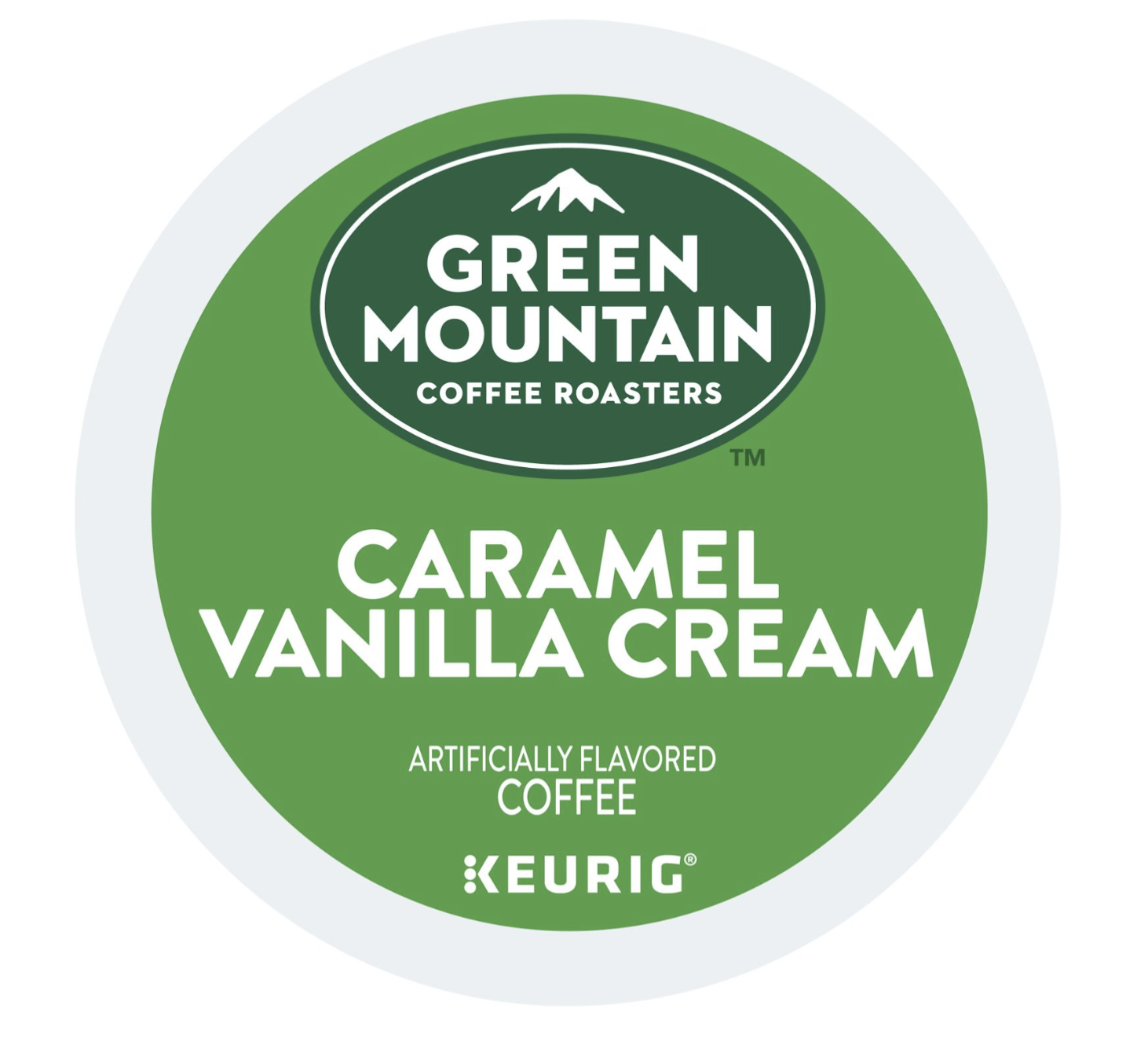 Green Mountain Caramel Vanilla Cream Coffee, K-cups, 24 ea