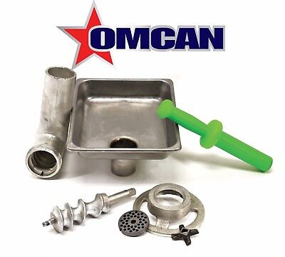 Omcan C812hcpl 10051 12 Meat Grinder Attachment Fits 12 Hub For Hobart Mixers