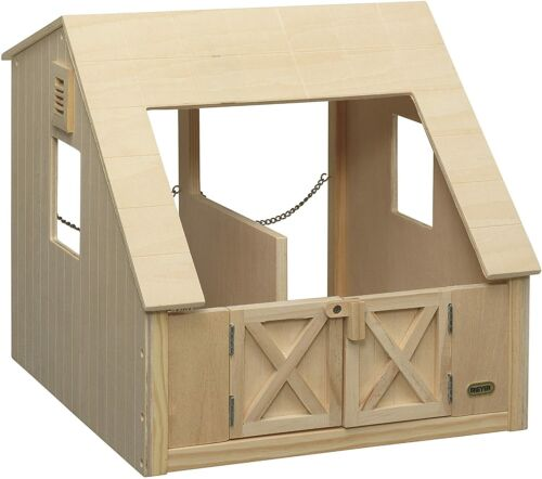 Breyer 306 Wood Two Stall Stable Traditional and Classics Series Model New