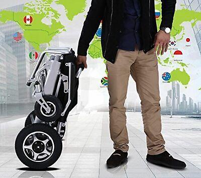 Plegable Y Viaje Eléctrico Silla de Ruedas Potencia Ligero Movilidad