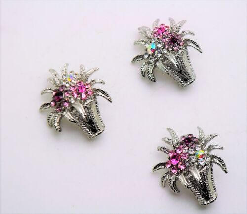 Gorgeous corsage bouquet style mix color Crystal fashion Brooch Pin lot #D255