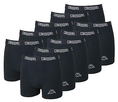 Kappa - 10er Pack Boxershorts Unterhose Sets S - XXL Schwarz -
