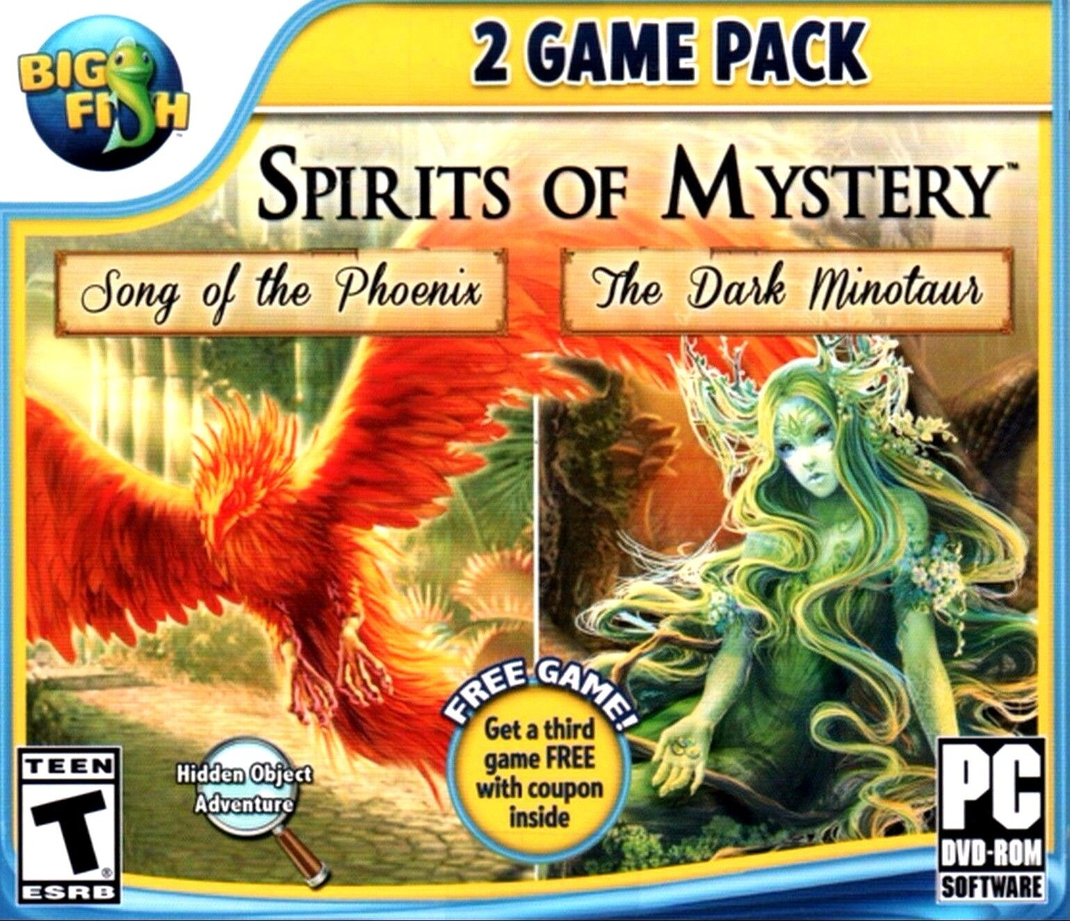 Computer Games - Spirits Of Mystery 2 Game Pack PC Games Windows 10 8 7 XP Computer hidden object