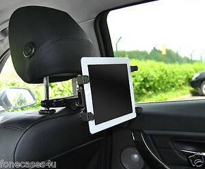 UNIVERSAL PORTABLE DVD PLAYER BACK SEAT CAR HEADREST MOUNT HOLDER BRACKET