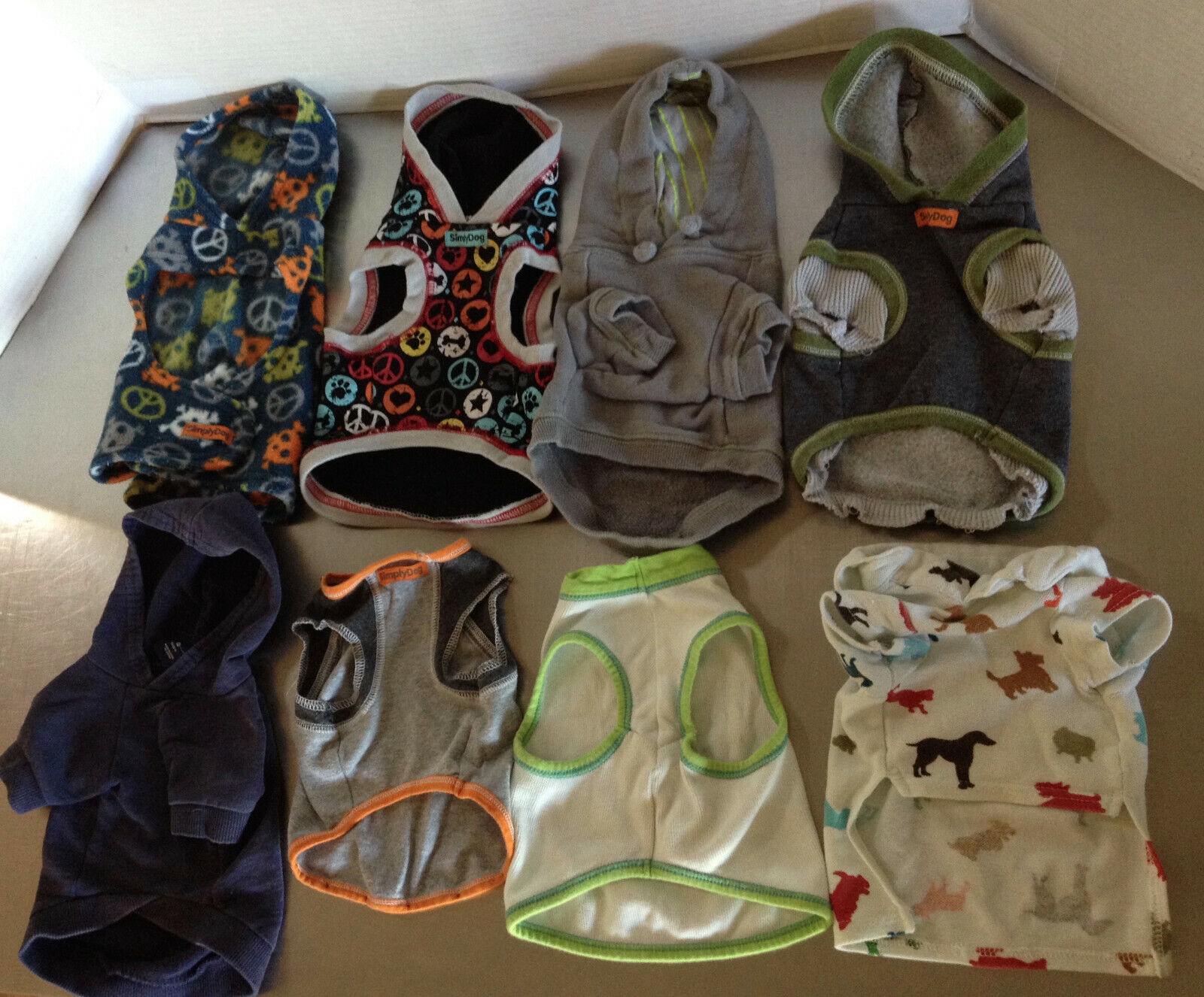 Simply Dog Clothes Lot Of 8 Items - $60.00