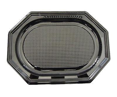 vierplatten, Catering-Trays, schwarz, mittel, 450 X 300 X 25 (Catering-trays)