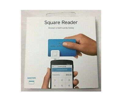 New Square Credit Card Reader - Sealed