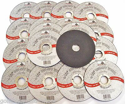 """20 GOLIATH INDUSTRIAL 4-1/2"""" CUT OFF WHEELS CW41278 DISCS ANGLE GRINDER GRINDING"""