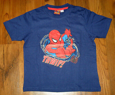 Spiderman T-Shirt Gr. 110-116, 122-128, 134-140 Marvel Spider-Sense Spider-Man ()
