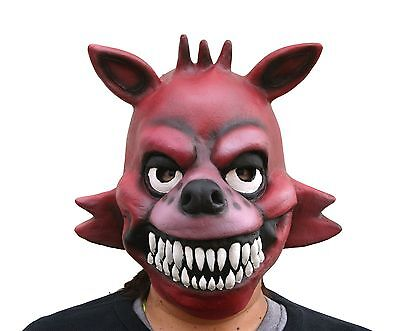 Full Head FNAF 3 Five Nights At Freddy's Costume Foxy the Pirate Halloween Mask (Five Nights At Freddy's Halloween Costumes)